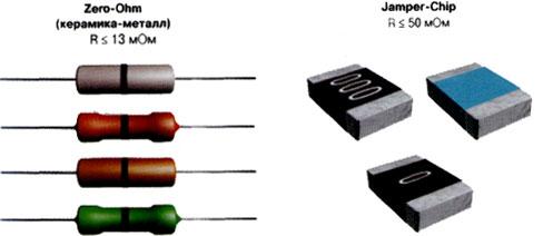 Цветовая маркировка радиодеталей