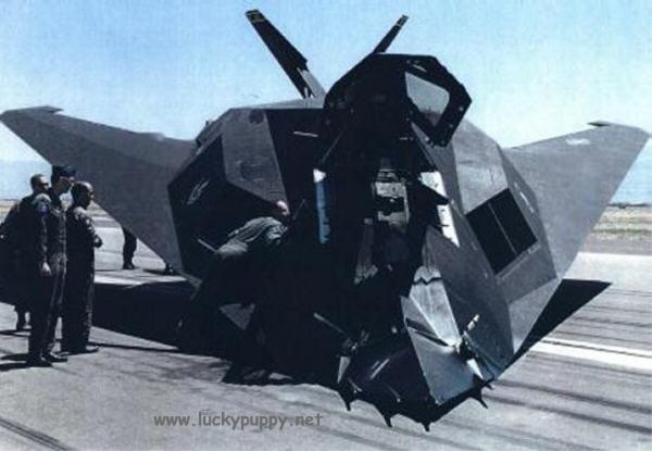 Истребители. Пятое поколение. Первый блин — F-117 - Технополис завтра
