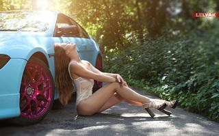 Девушки автомото эротика #15